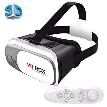 VR Box II 2nd Generation Virtual Reality 3D Glasses Headset VRBOXGear Version 2 VR Box 2 with Remote Controller