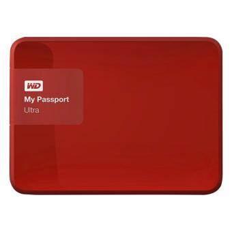 Western Digital 1TB My Passport Ultra USB 3.0 (WDBGPU0010BRD) - Red