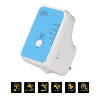 WiFi Range Extender Wavlink 300Mbps Wireless Repeater Wifi Booster Signal Amplifier Dual Band 2.4g 5g UK plug