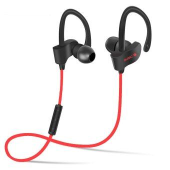 Wireless Headset Sport Stereo Mic In-Ear Bluetooth Headphone(Red)
