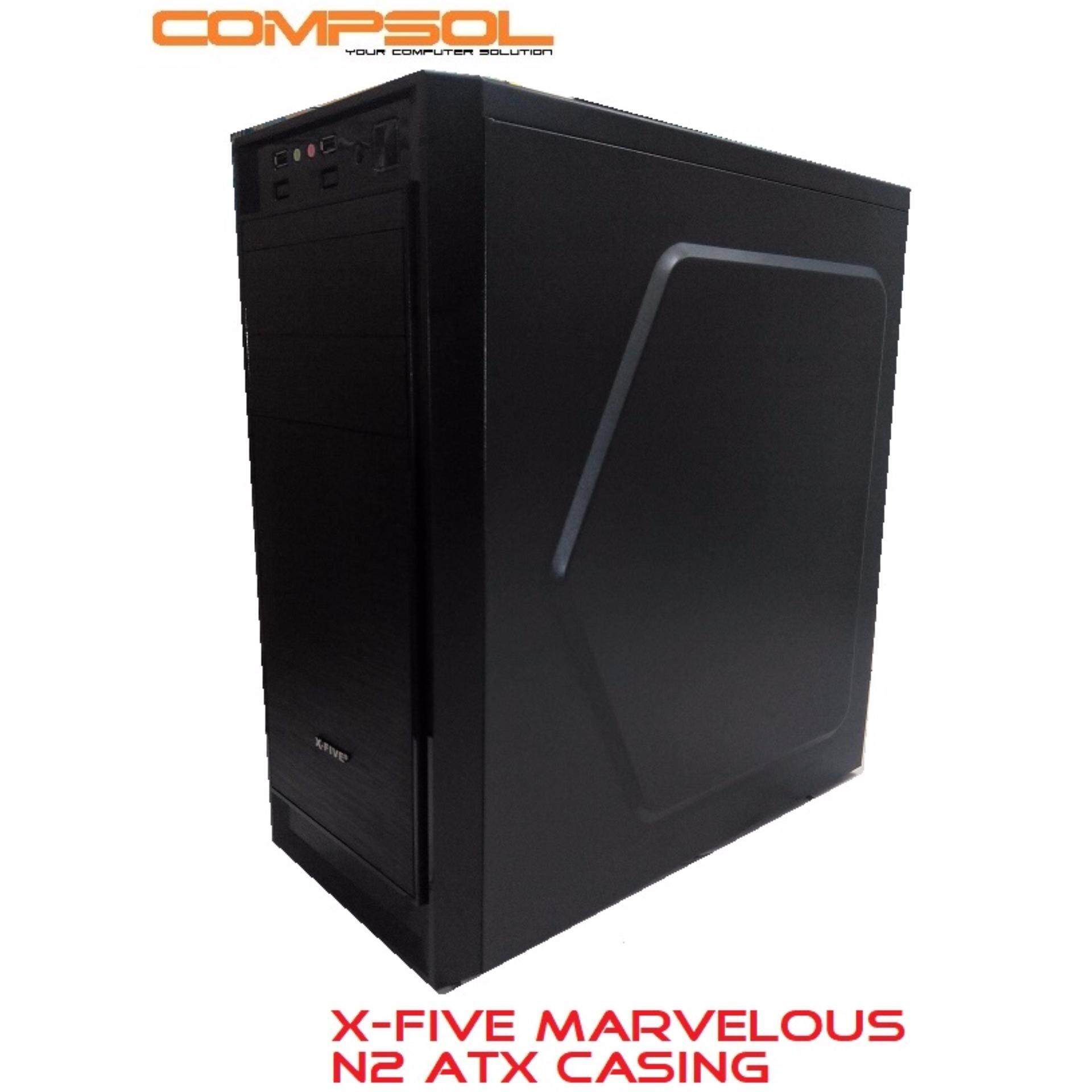 X-Five Marvelous N2 Atx Casing With PSU Malaysia