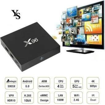 X96 IPTV Android 6.0 S905X 2GB RAM /16GB ROM Quad Core Smart TV BOX