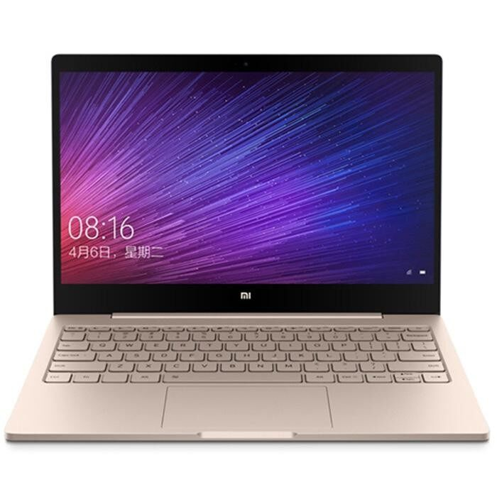 Xiaomi Air 12 Notebook 12.5″ Windows 10 Chinese Version 128GB US Plug(Gold)