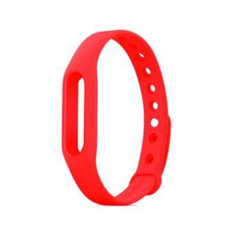 Xiaomi Mi Band 2 Colourful Strap (Red) - Colorful Colour Strap forMiBand 2 OLED Smart Wear Color