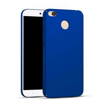Xiaomi Redmi 4X Full Covered Matte Case (Blue) - 2