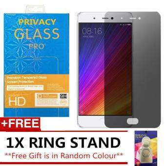 Harga XIAOMI REDMI NOTE 4 (SNAPDRAGON) ANTI SPY PRIVACY TEMPERED GLASS SP FREE IRING STAND