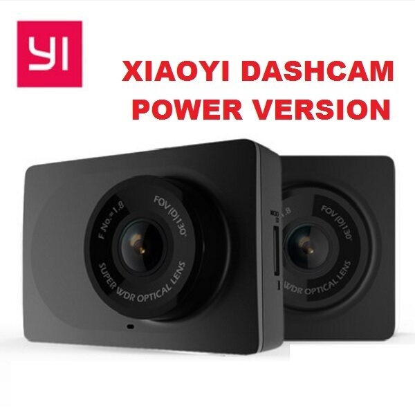xiaoyi yi black power edition car dashcam 1080p fhd