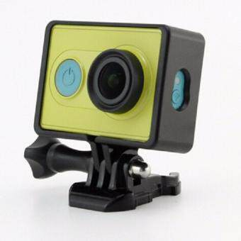 YICOE Portable Standard Protective Frame+Quick Release Buckle MountBase for Xiaomi Yi 4k Xiaoyi Action Sport Camera Accessories