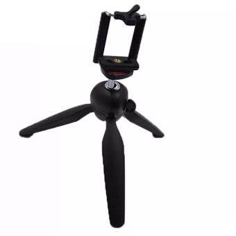 Harga Yunteng YT-228 Tripod Mount with Phone Holder Clip Mount forDigital Camera