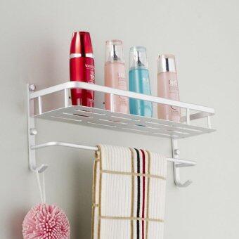 1 tiers aluminium shower bathroom accessories storage holder 60cm 3