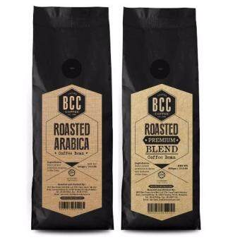 1 X BCC Roasted Arabica Coffee Bean (500gm) + 1 X BCC Roasted Premium Blend(500gm)
