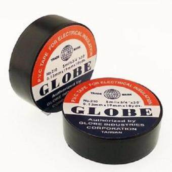 10 PCS (Pack) - Globe PVC Tape For Electrical Insulation 5mil x18mm x 5M