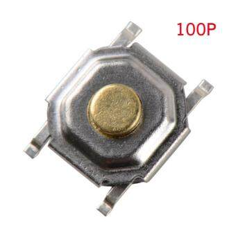 100 pcs 4*4*1.5mm Tactile Push Button Switch Tact Micro Switch4-Pin SMD