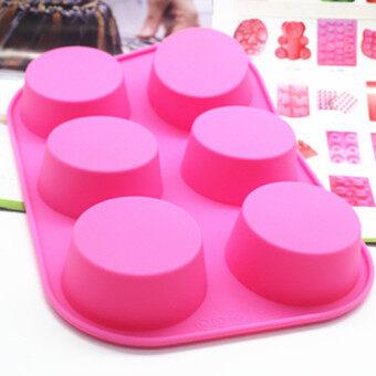 105g handmade soap 6 hole round cake mold