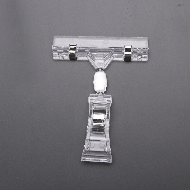 Buy 12pcs Sign Holder Display Clip Label Price Card Tag for Shelving Supermarkets Malaysia