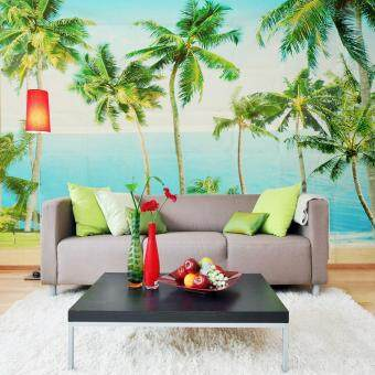 135x95Inch 3D Wallpaper Bedroom Mural Modern Nature Trees TV Background Wall