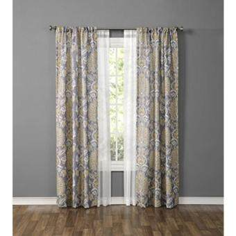 1888 Mills Made4You Curtain Set (4 Pack), Damask