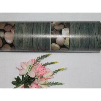 Harga 1PC TIKAR GETAH FLOOR AND TABLE (GREY WOOD STONE)