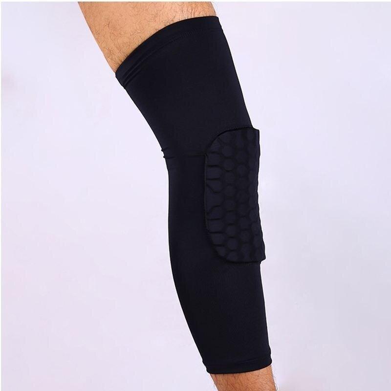 Buy 1pcs Honeycomb Knee Pad Crashproof Antislip Basketball Leg Long Sleeve Protector Malaysia