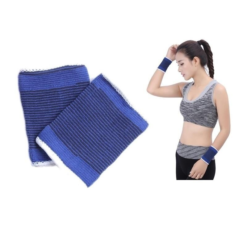 Buy 2 PCS Elastic Sports Thermal Wrist Support Guards, Size: 8 X 10cm Malaysia
