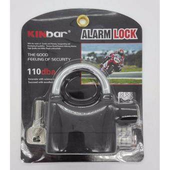 Harga 2 unit ORIGINAL Kinbar SIREN ALARM PADLOCK for DOOR/Motor/Bike/CarPAD LOCK
