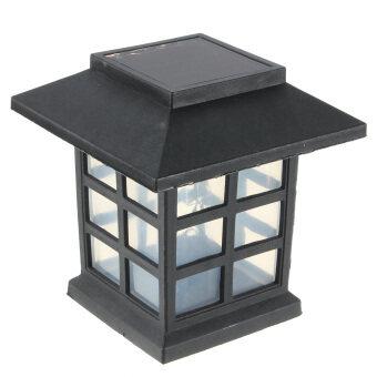 2 x Outdoor Solar Oriental LED Lawn Path Yard Garden Light Landscape Stake Lamp Mult-Color