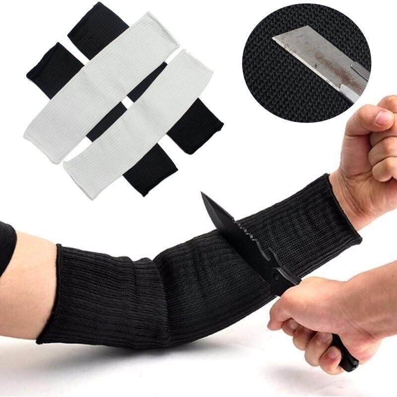 Buy 2pcs Cut-Resistant Armband Hunting Equipment Anti Abrasion Safety Anti-Cut Sleeves Malaysia
