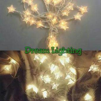 Harga 3 Meter 20 LED Fairy Light Lucky Star Dream Lighting Best SellerXmas Christmas Wedding Party Decorative