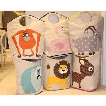 3 Sprouts Laundry Hamper Series E (D06-Octopus) - 5