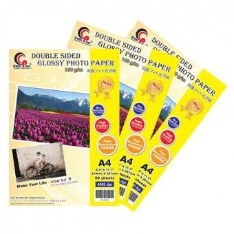 3 x ColorPrint A4 160GSM Double-sided Glossy Paper