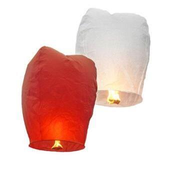 360DSC Kongming Lantern Flying Sky Lantern Wishing Lamp (10-Pack/Assorted Color)