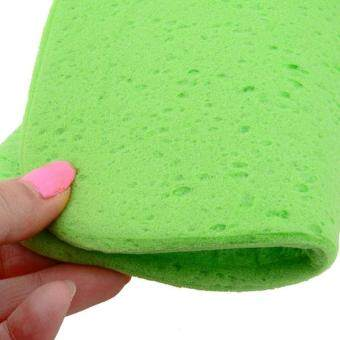 360WISH Compressed Car Cleaning Wash Sponge - Green (EXPORT) - 4