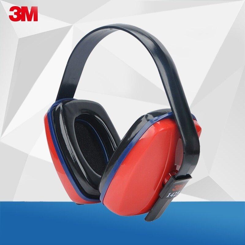 Buy 3m 1425 sound noise sleep earmuffs noise reduction Headset To Sleep With earmuffs professional learning Malaysia