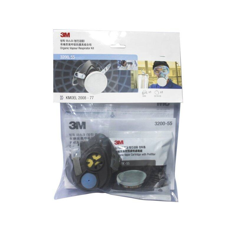 Buy 3M 3200 Half Facepiece Respirator & 3311K-55 Cartridge Malaysia