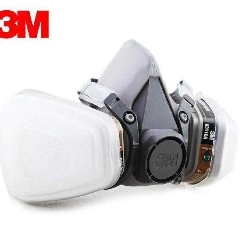 Buy 3M 6200 Half Facepiece Respirator + 3M 6001 Organic Vapor Cartridge + 3M 501 Filter Retainer + 5N11 Particulate Filter Malaysia