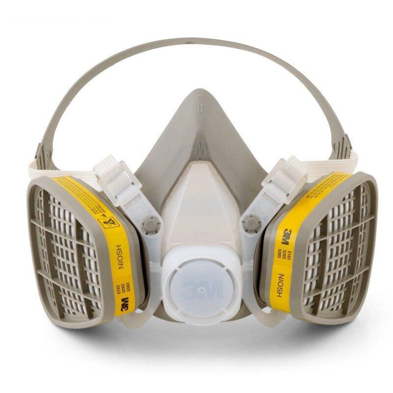 Buy 3M 6200 Half Facepiece Respirator + 3M 6003 Acid Gas/Organic Vapor Cartridge Malaysia