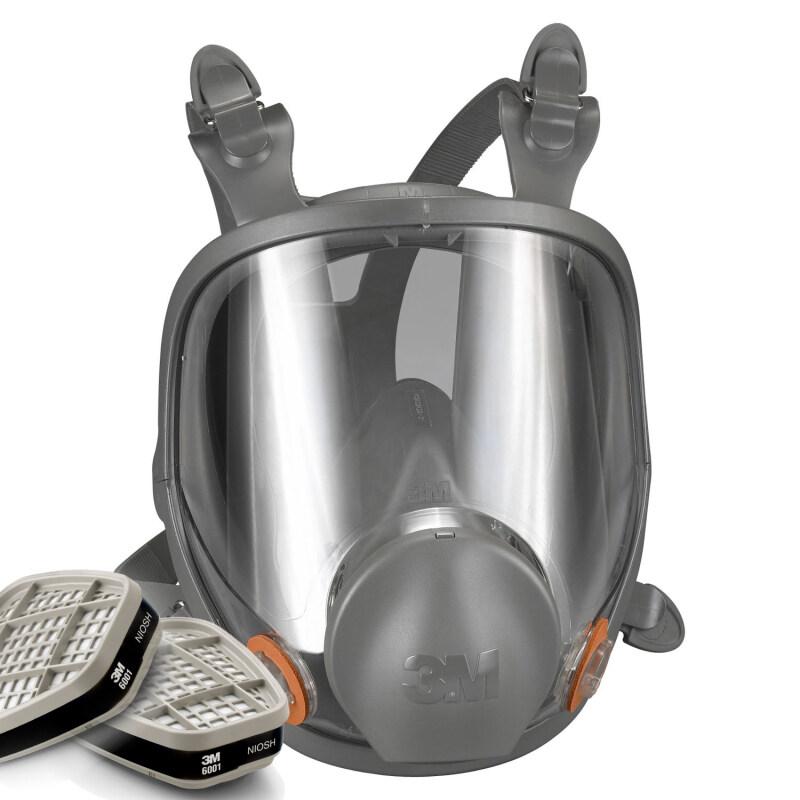 Buy 3M 6800 Full Facepiece Respirator + 3M 6001 Organic Vapor Cartridge Malaysia