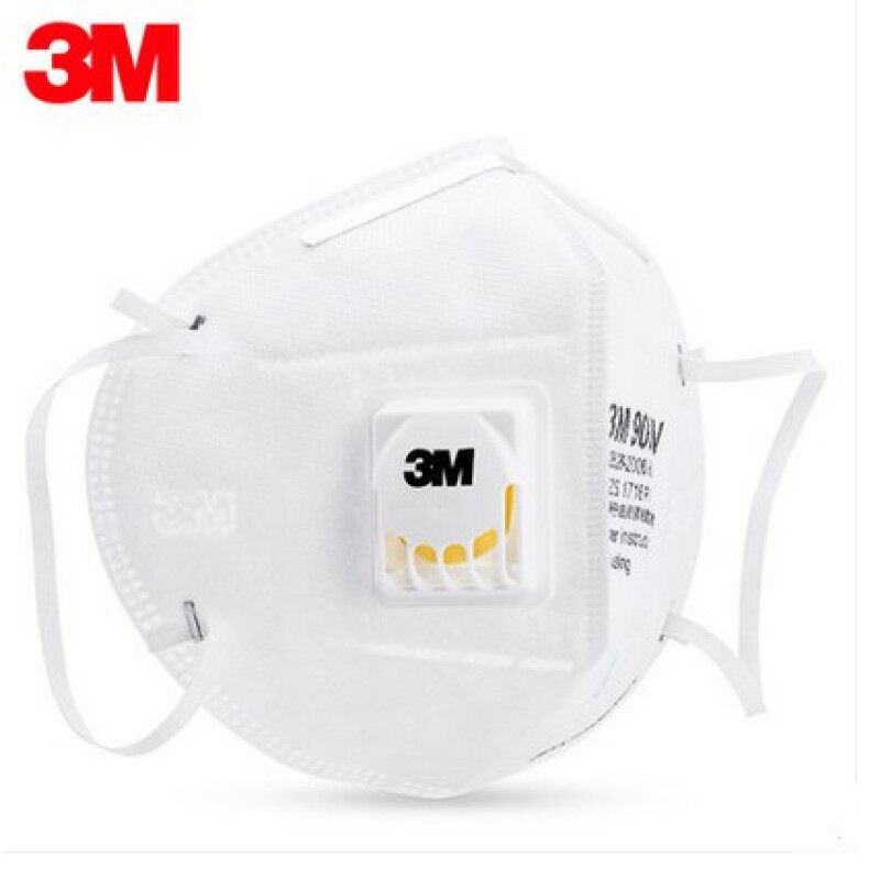 Buy 3M 9001 V/9002 V with breathing valve riding dust masks anti-particles material anti-fog and haze PM2.5 masks Malaysia