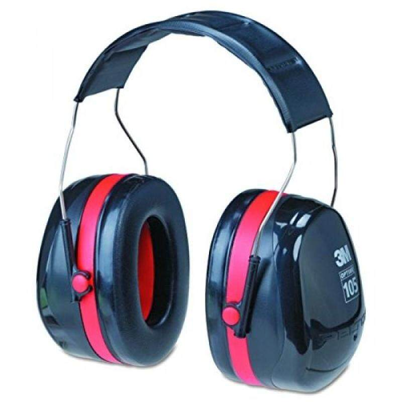 Buy 3M Peltor Optime 105 Over the Head Earmuff, Ear Protectors, Hearing Protection, NRR 30 dB Malaysia