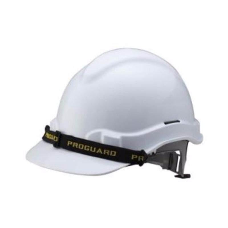 3PCS SAFETY HELMET - PROGUARD (HG2-PHSL) SLIDE LOCK (WHITE)