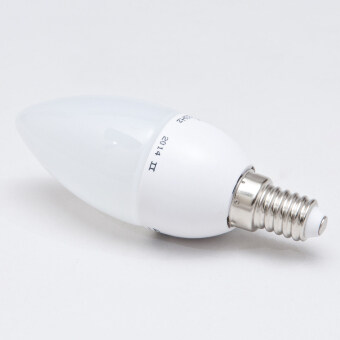 Harga 3W E14 LED Candle/Bullet Bulb (Frosted/Opal) - Warm White