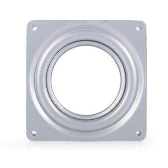 "Harga 4"" Square Rotating Swivel Plate Metal Lazy Susan Bearing Turntable"