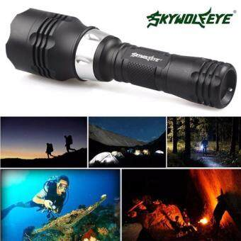 Harga 5000 Lumen 60m CREE T6 LED Diving Flashlight Torch Scuba Light LampWaterproof