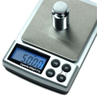 500g x 0.01g Mini Precision Digital Scale Jewelry Gold WeightingKitchen Scale Electronic LCD Display Pocket Scales
