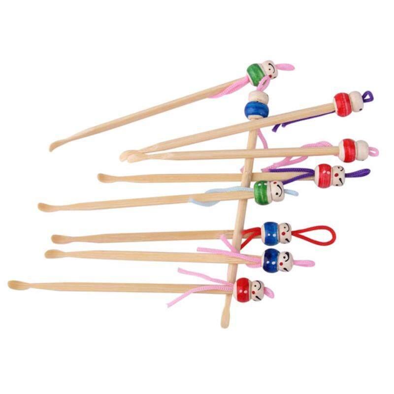 50pcs/lot cute cartoon Fashion Cartoon Wood Ear pick wooden Bamboo Earpick Clean Ear pick Ear Spoon