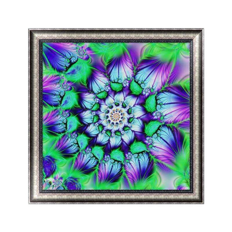 5D DIY Flower Diamond Embroidery Painting Cross Stitch Craft Kit Home Decor Gift