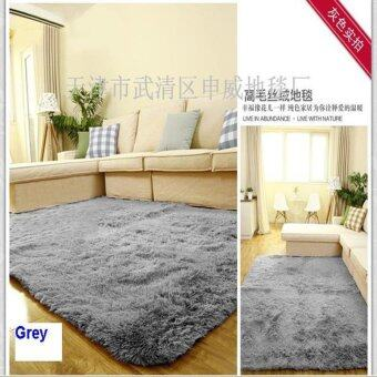 Harga 60cm*160cm 4.5cm Thick Floor Mat Modern Area Rugs And Carpet ForHome Living Room Bedroom Shaggy Carpet Rug For Home