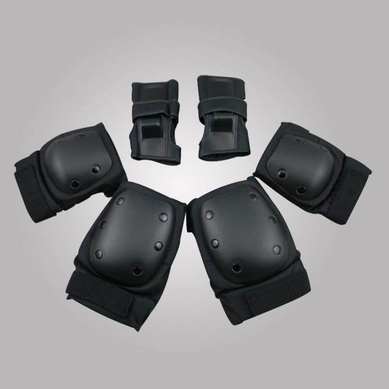 Buy 6pcs Protective Gear Pad Guard Set Skating Skateboard Roller Blading Elbow Knee Wrist Safety Black 2017 New Arrival Malaysia