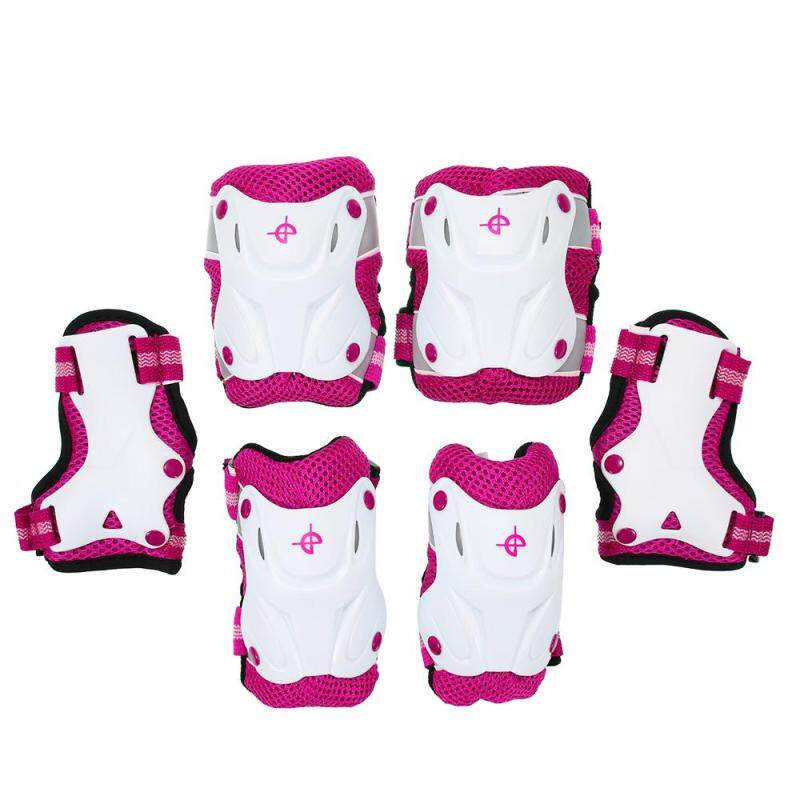 6PCS/Set 3 in 1 Kids Skating Protective Gear Set Knee and Elbow Pads Bicycle Skateboard Ice Skating Roller Knee Protector