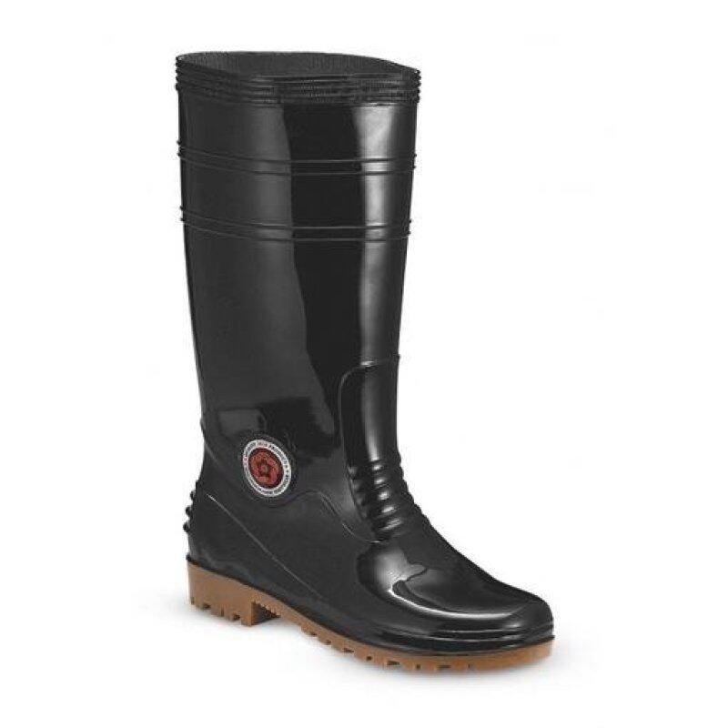 7000B Lined Wellington Boots Black